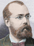 German Doctor. in 1882, He Discovered the Bacillus of Tuberculosis Photographic Print by Prisma Archivo