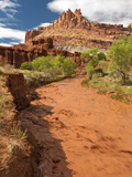 Fremont River, Capitol Reef National Park, Utah, Usa Photographic Print by Dave Welling