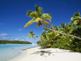 One Foot Island, Aitutaki, Cook Islands Photographic Print by Douglas Peebles