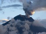 Active Volcano Tungurahua, Province Tungurahua, Ecuador Photographic Print by Jutta Riegel