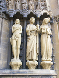 Statues at the Entrance of the Church of Our Dear Lady, Rhineland-Palatinate, Trier, Germany Photographic Print by Tom Haseltine