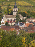 Ribeauville, Alsatian Wine Route, Alsace Region, Haut-Rhin, France Photographic Print by Walter Bibikow