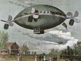 Aerostat in 'The Illustration', 1887 Photographic Print by  Prisma Archivo