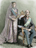 King of Denmark (1863-1906), Was the First Sovereign of the Branch Blucksburg Photographic Print by  Prisma Archivo