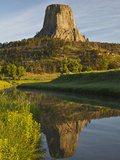 Devil's Tower National Monument, Wyoming, Usa Photographic Print by Larry Ditto