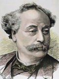 French Novelist and Playwright. Illegitimate Son of Alexandre Dumas Photographic Print by Prisma Archivo