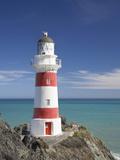 Historic Cape Palliser Lighthouse (1897), Wairarapa, North Island, New Zealand Photographic Print by David Wall