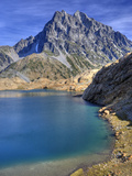 Ingalls Lake and Mt. Stuart, Alpine Lakes Wilderness, Washington, Usa Photographic Print by Jamie & Judy Wild