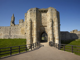 Warkworth Castle, Warkworth, Northumberland, England Photographic Print by David Wall