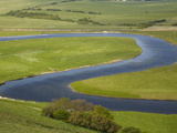 River Cuckmere, Near Seaford, East Sussex, England Photographic Print by David Wall