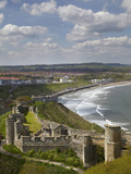 Scarborough Castle, Scarborough, North Yorkshire, England Photographic Print by David Wall