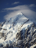 Aoraki Mount Cook, Mackenzie Country, South Canterbury, South Island, New Zealand Photographic Print by David Wall