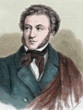 Aleksandr Sergeevic Pushkin (Moscow, 1799-Petersburg, 1837). Russian Poet Photographic Print by Prisma Archivo
