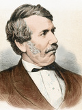 David Livingstone (1813-1873). Scottish Explorer Photographic Print by Prisma Archivo