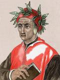 Dante Alighieri (1265-1321). Italian Poet Photographic Print by Prisma Archivo