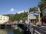 Downtown Creek Street, Ketchikan, Alaska, Usa Photographic Print by Savanah Stewart