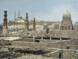 View of the City with the Citadel, Cairo, Egypt Photographic Print by Prisma Archivo