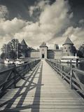 Island Castle on Lake Galve, Trakai Historical National Park, Trakai, Lithuania Photographic Print by Walter Bibikow