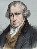 James Watt (Greenok 1736-Heathfield, 1819). Scottish Inventor and Mechanical Engineer Photographic Print by  Prisma Archivo