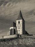 Hunawihr, Alsatian Wine Route, Alsace Region, Haut-Rhin, France Photographic Print by Walter Bibikow