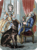Louis Xv (1710-1774). King of France (1715-1774) and Marie Jeanne Becu, Comtesse Du Barry Photographic Print by  Prisma Archivo