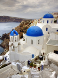Imerovigli, Santorini, Greece Photographic Print by Adam Jones