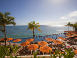 Waikiki, Honolulu, Oahu, Hawaii Photographic Print by Douglas Peebles