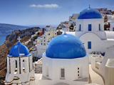 Oia, Santorini, Greece Photographic Print by Adam Jones