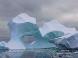 Iceberg Arch, Near Lemaire Channel, Antarctic Peninsula Photographic Print by Christopher Bettencourt