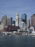Boston Harbor, Long Wharf, Boston, Massachusetts, New England, Usa Photographic Print by Jim Engelbrecht