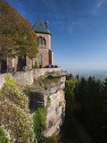 Hilltop Convent, Mont Ste-Odile, Alsace Region, Bas-Rhin, France Photographic Print by Walter Bibikow