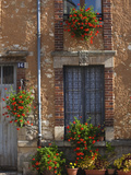 Town Detail, Vertus, Champagne Region, Marne, France Photographic Print by Walter Bibikow