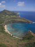Hanauma Bay, Oahu, Hawaii Photographic Print by Douglas Peebles