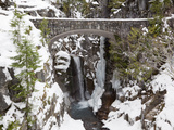 Christine Falls, Rainier National Park, Mt, Washington, Usa Photographic Print by Jamie & Judy Wild