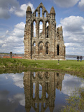 Whitby Abbey Ruins (Built Circa 1220), Whitby, North Yorkshire, England Photographic Print by David Wall