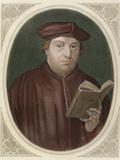 Martin Luther (Eisleben, 1483, Eisleben, 1546) Fotografisk tryk af Prisma Archivo