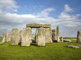 Stonehenge (Circa 2500 Bc), UNESCO World Heritage Site, Wiltshire, England Photographic Print by David Wall