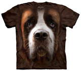 St Bernard Face T-Shirt
