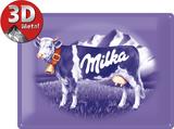 Milka Kuh Plaque en métal