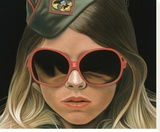 Scout - crop Stretched Canvas Print by Richard Phillips