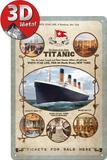 Titanic Tin Sign