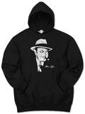 Hoodie: Al Capone - Original Gangster Pullover Hoodie