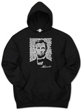 Hoodie: Lincoln - Gettysburg Address Vêtement