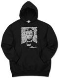 Hoodie: Lincoln - Gettysburg Address Pullover Hoodie