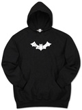 Hoodie: Bite Me Bat T-Shirt
