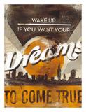 Rodney White - Dreams Come True Digitálně vytištěná reprodukce
