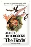 Alfred Hitchcock's The Birds Plaque en métal