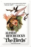 Alfred Hitchcock's The Birds Cartel de chapa
