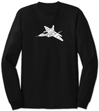 Long Sleeve: Need for Speed - Fighter Jet T-Shirt