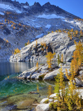 Leprechaun Lake, Enchantment Lakes, Alpine Lakes Wilderness, Washington, Usa Photographic Print by Jamie & Judy Wild
